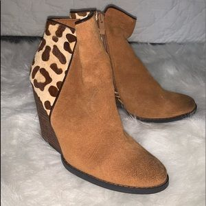 Animal Print Ankle Booties